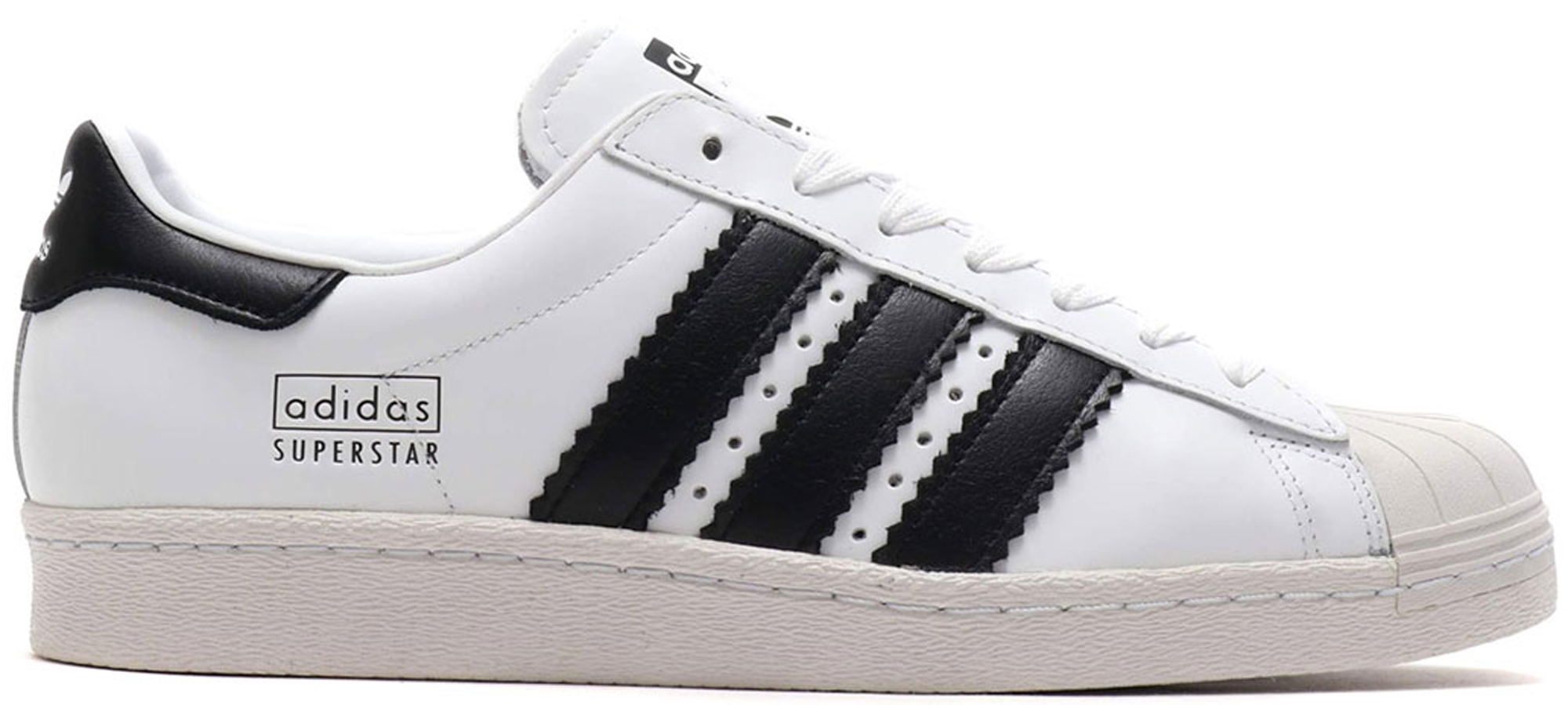 Lady's shoes [G61070] men's for Adidas superstar 80s for white black chalk 2 adidas Originals SUPERSTAR 80s