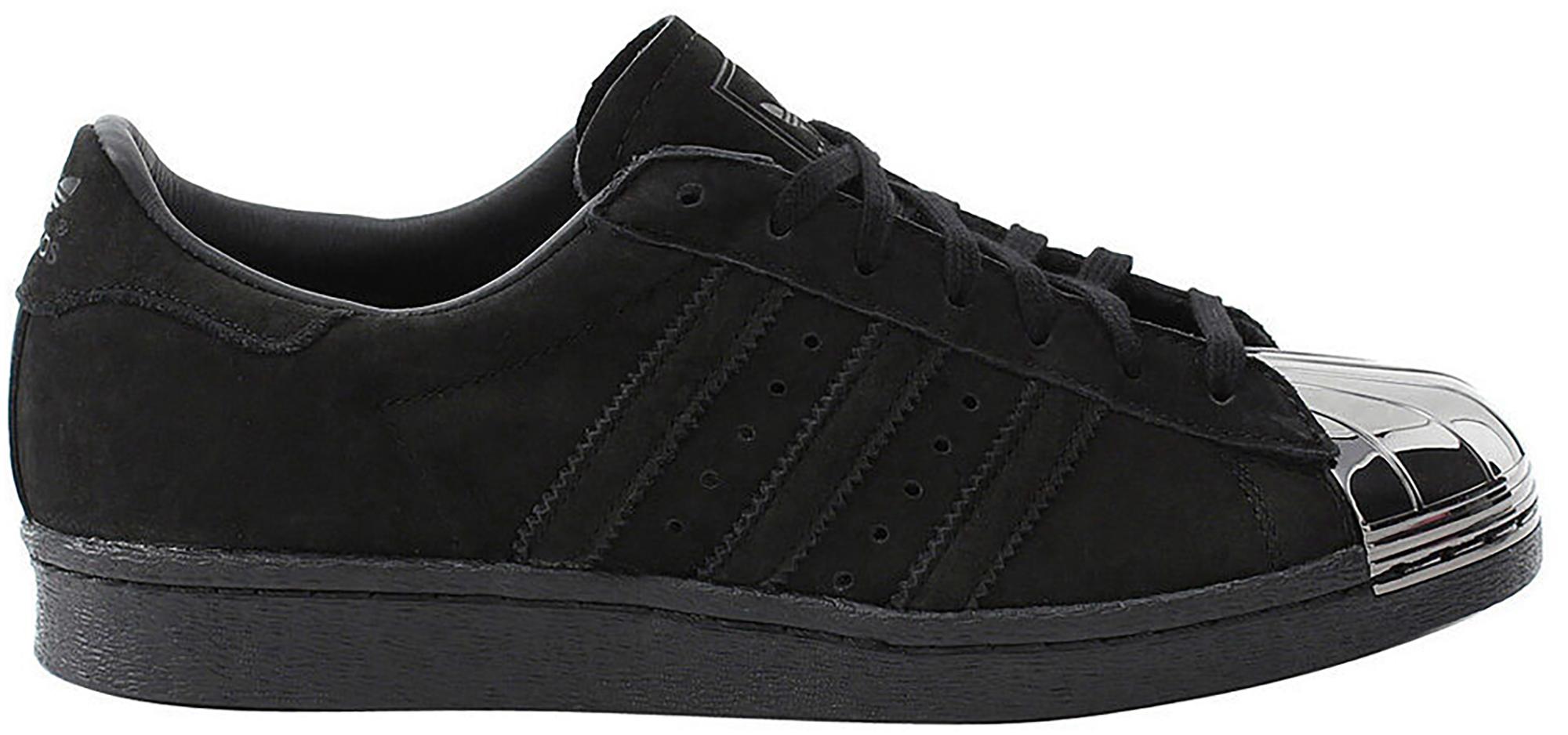 adidas Superstar 80s Metal Toe Black (W