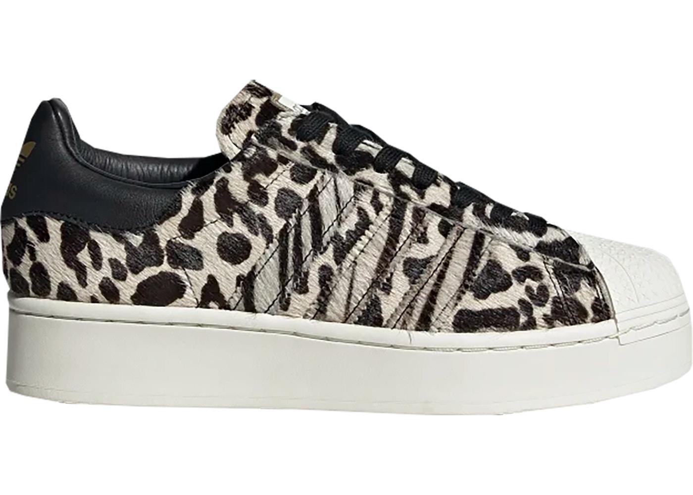 adidas leopard superstar