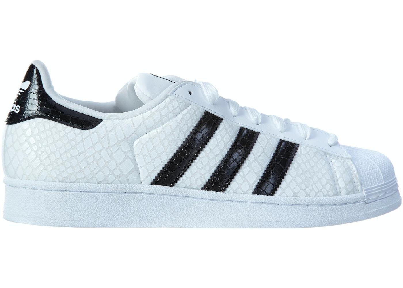 adidas Superstar C White Black-White