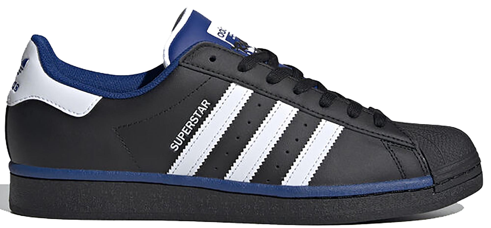adidas Superstar Core Black Collegiate