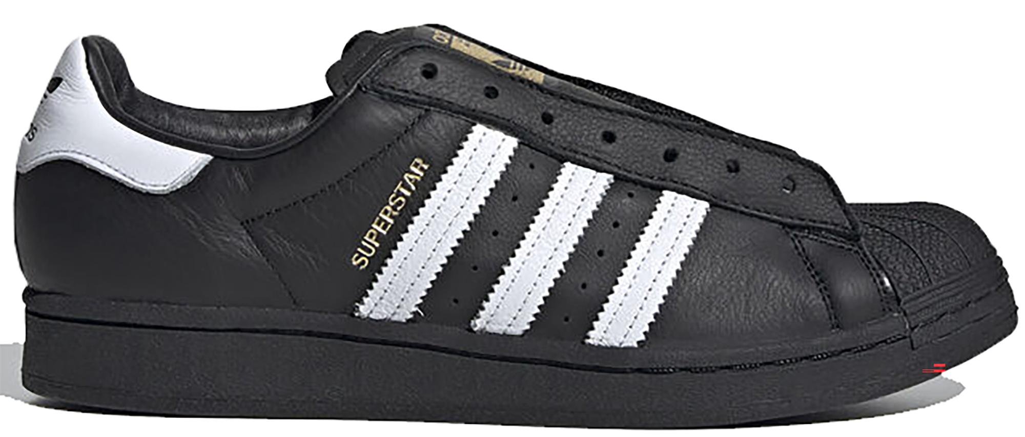 adidas superstar black white cheap