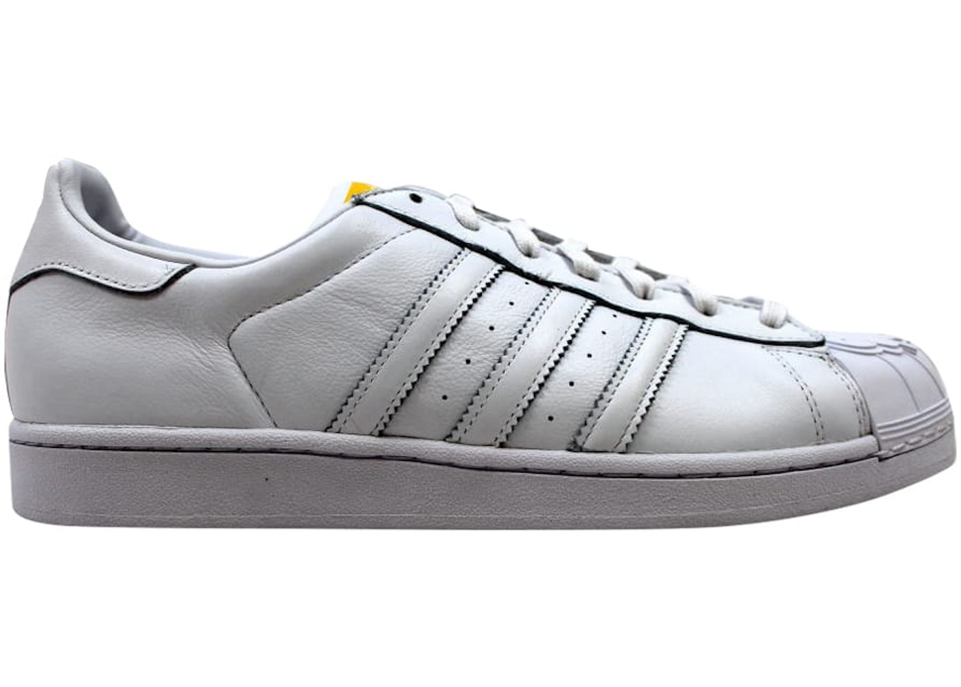 4228ec7c adidas Superstar Pharrell Supershell White/White-Yellow - S83350