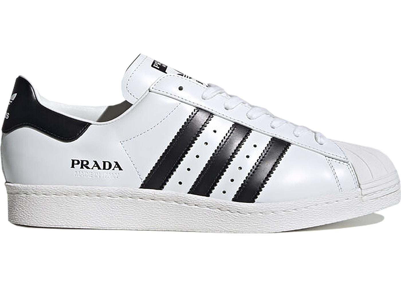 adidas Superstar Prada White Black - FW6680