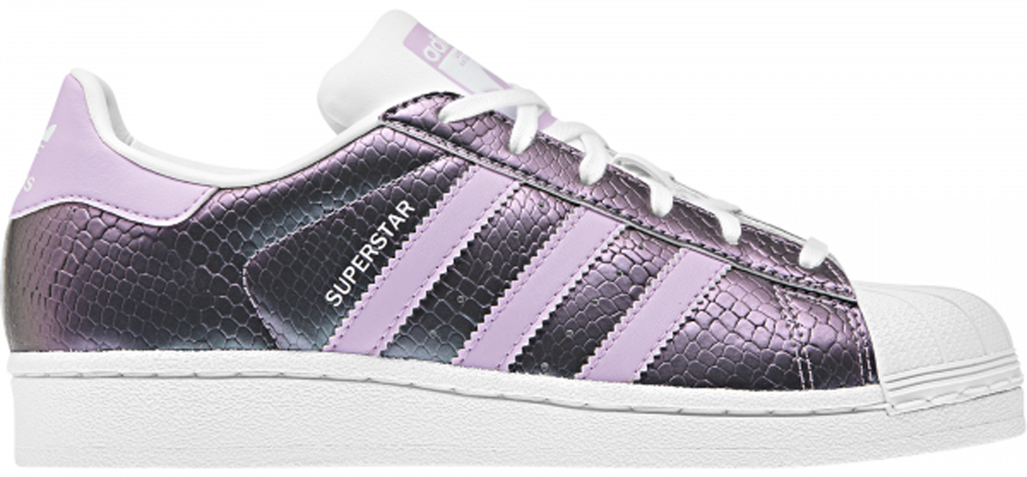 adidas Superstar Snake Clear Lilac (GS) -