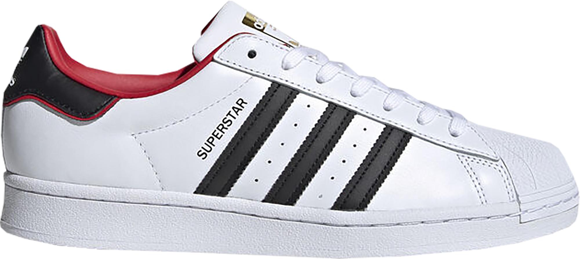 adidas Superstar Valentines Day White