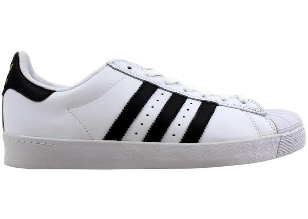 1656f224 adidas Superstar Vulc ADV White/Black-White - D68718