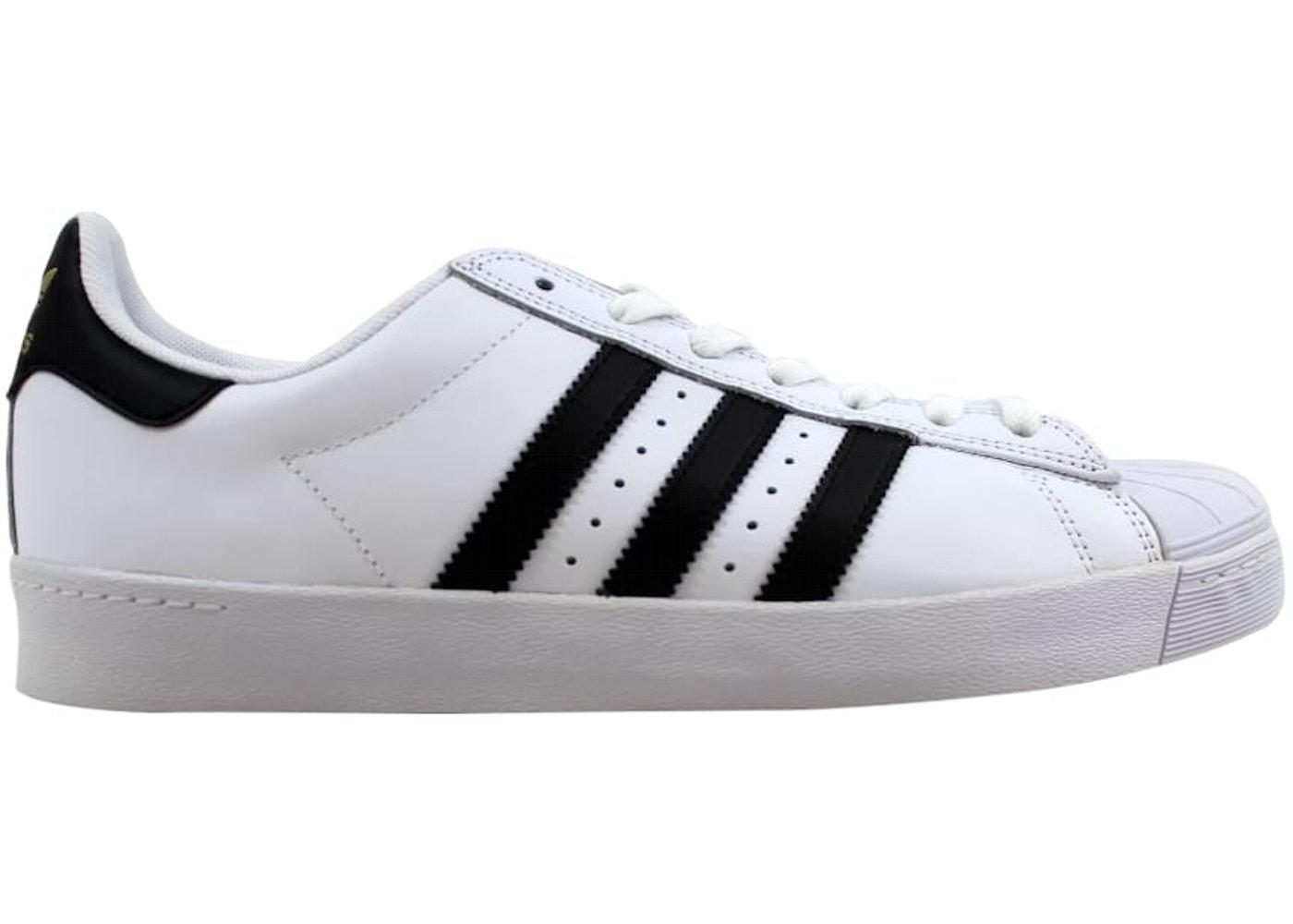 prometedor cansada perro  adidas Superstar Vulc ADV White/Black-White — HypeAnalyzer