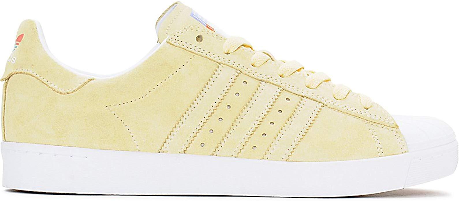 adidas Superstar Vulc Adv Pastel Yellow