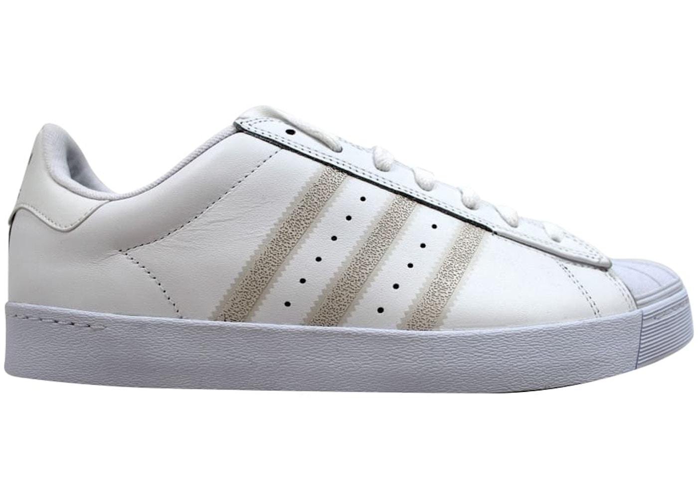 adidas Superstar Vulc White White-Silver Metallic - F37463 f6b83a406
