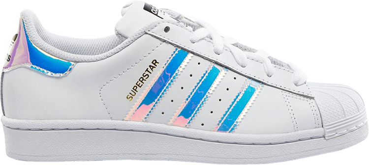 adidas Superstar White Iridescent (GS) -