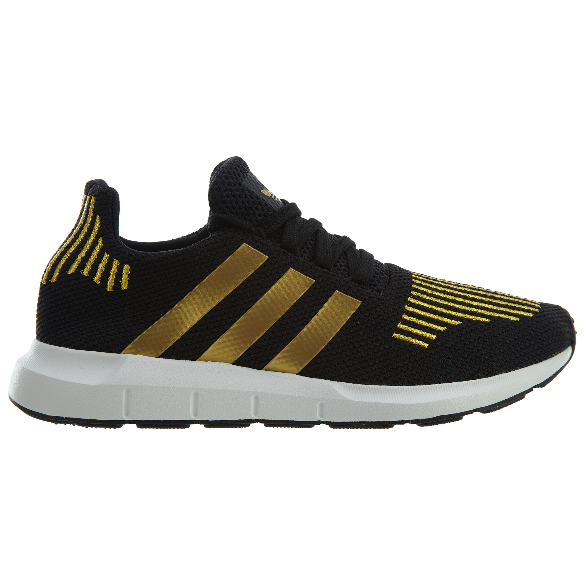 adidas Swift Run Black Gold Metallic