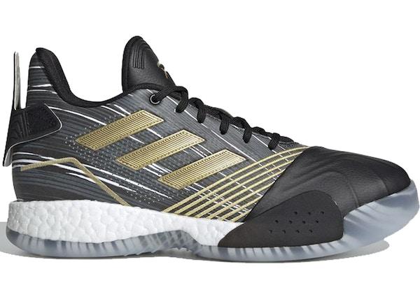 huge discount bebf2 7280c adidas T-Mac Millennium Black Gold