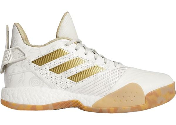 online store f6925 30906 adidas T-Mac Millennium White Gold