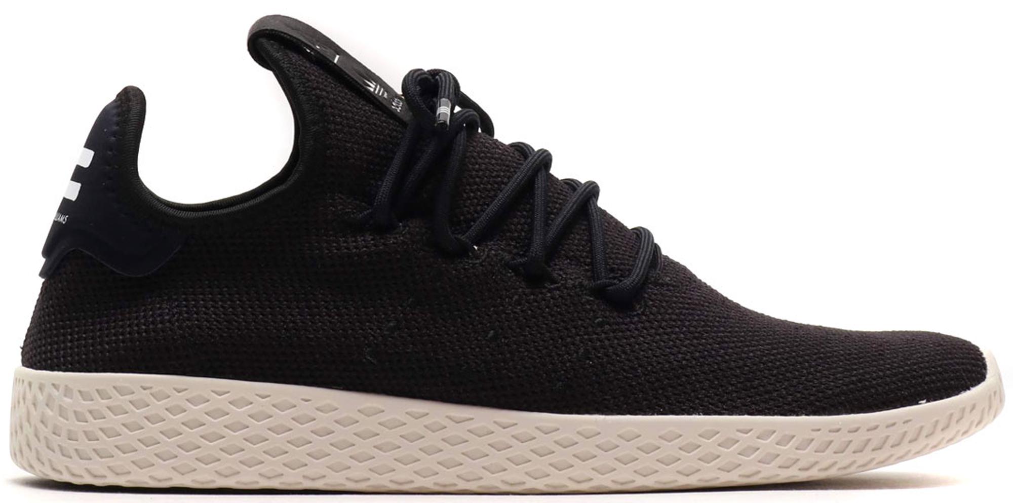 adidas Tennis Hu Pharrell Core Black Chalk White
