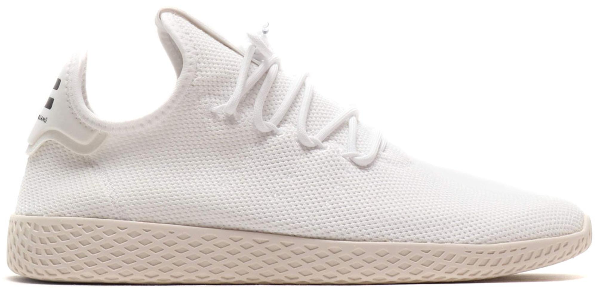 adidas Tennis Hu Pharrell Running White Chalk White