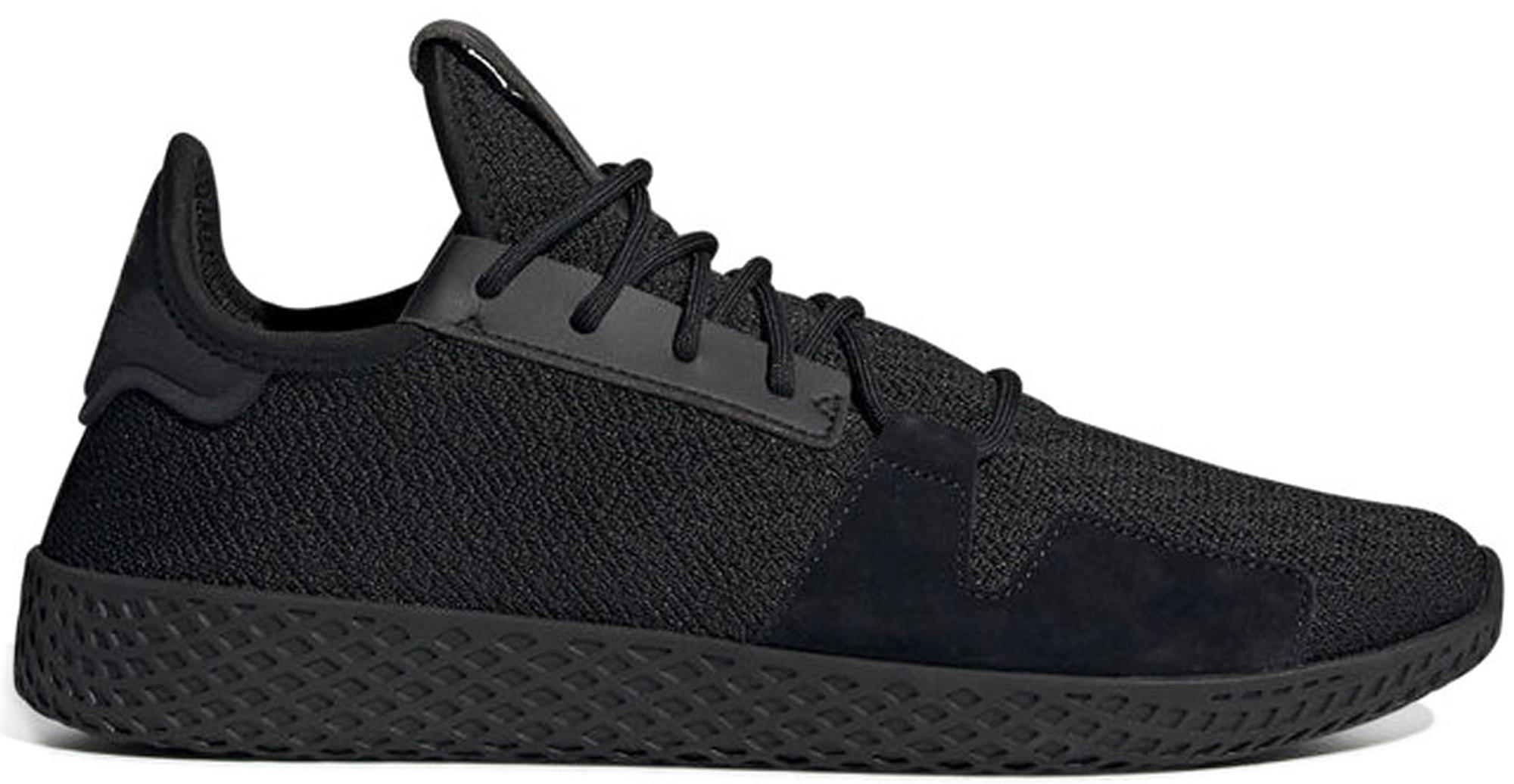 adidas pharrell tennis hu black