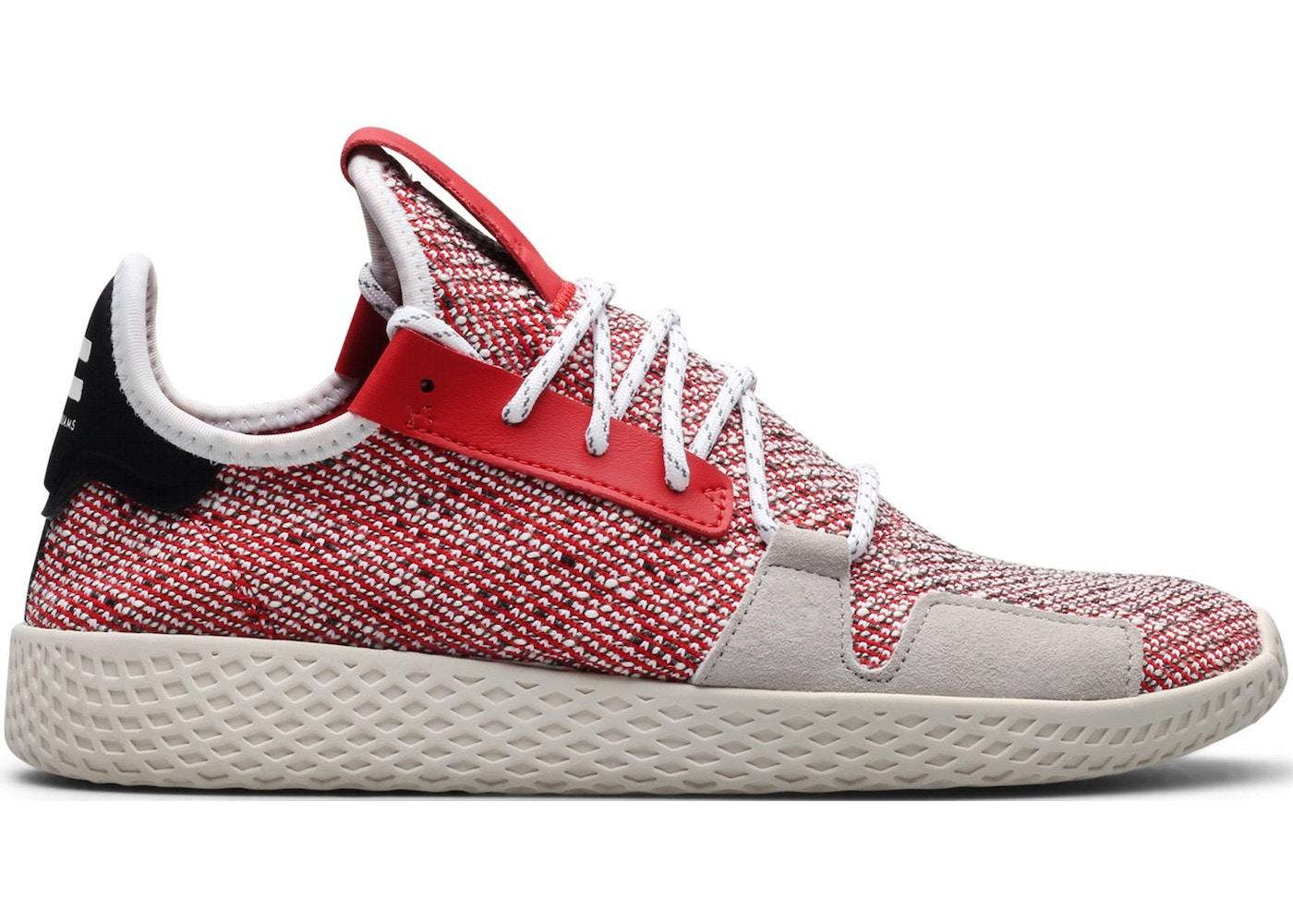 2f31ebd6 adidas Tennis Hu V2 Pharrell Solar Pack Scarlet - BB9542
