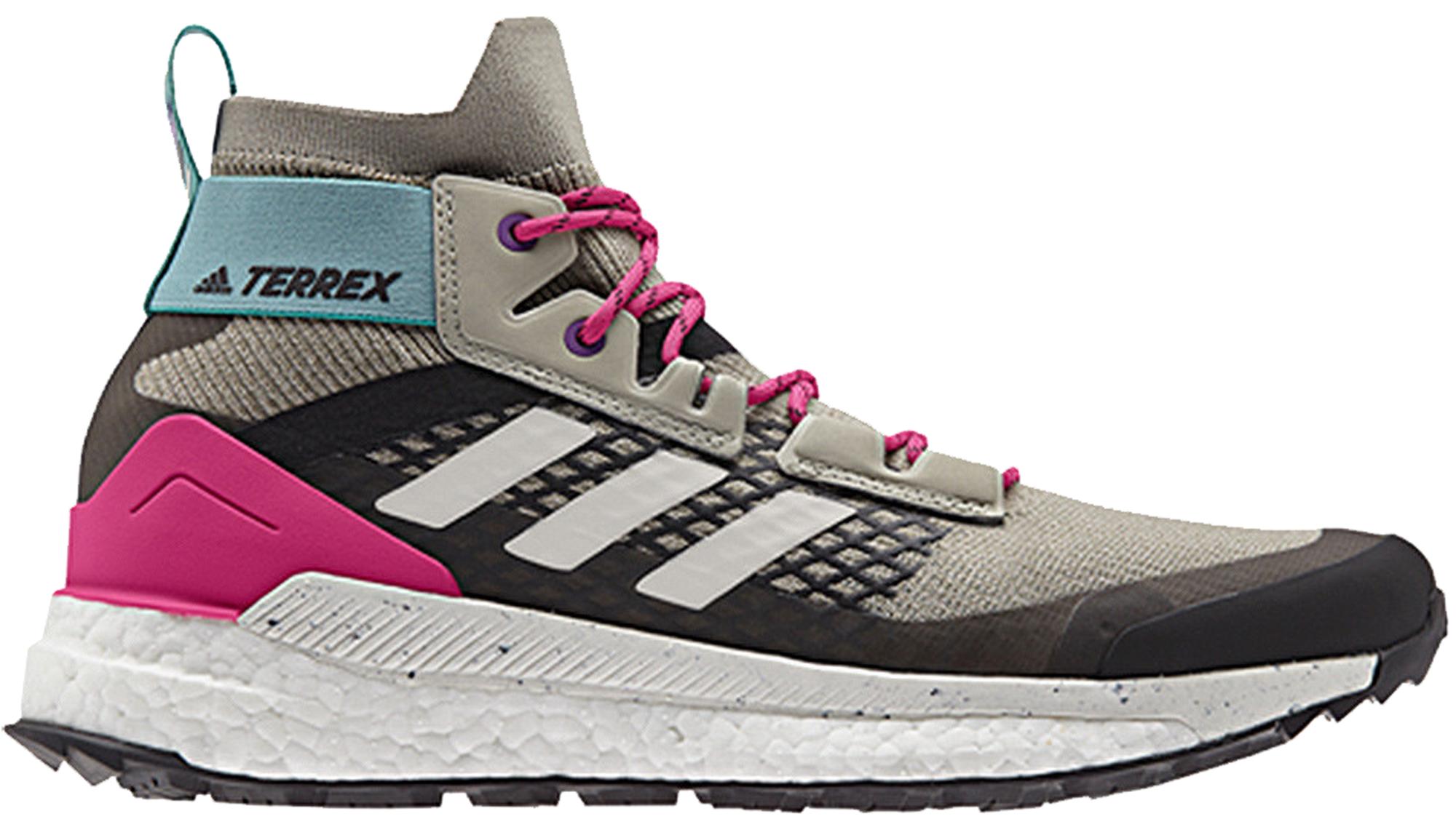 adidas Terrex Free Hiker Grey Pink Blue