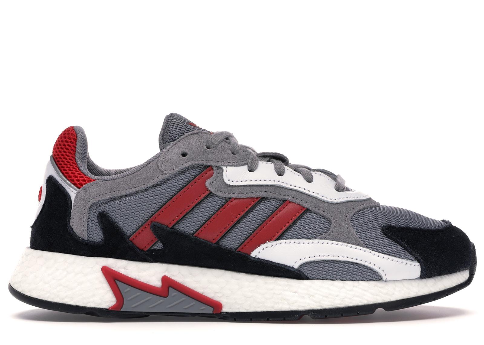 adidas Tresc Run Grey Scarlet Core