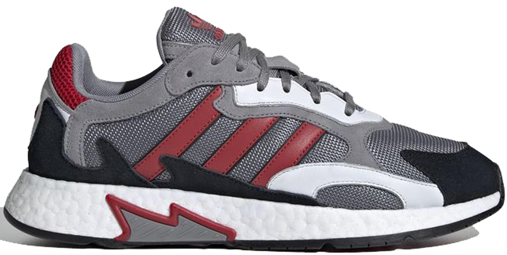 adidas Tresc Run Grey Scarlet Core Black