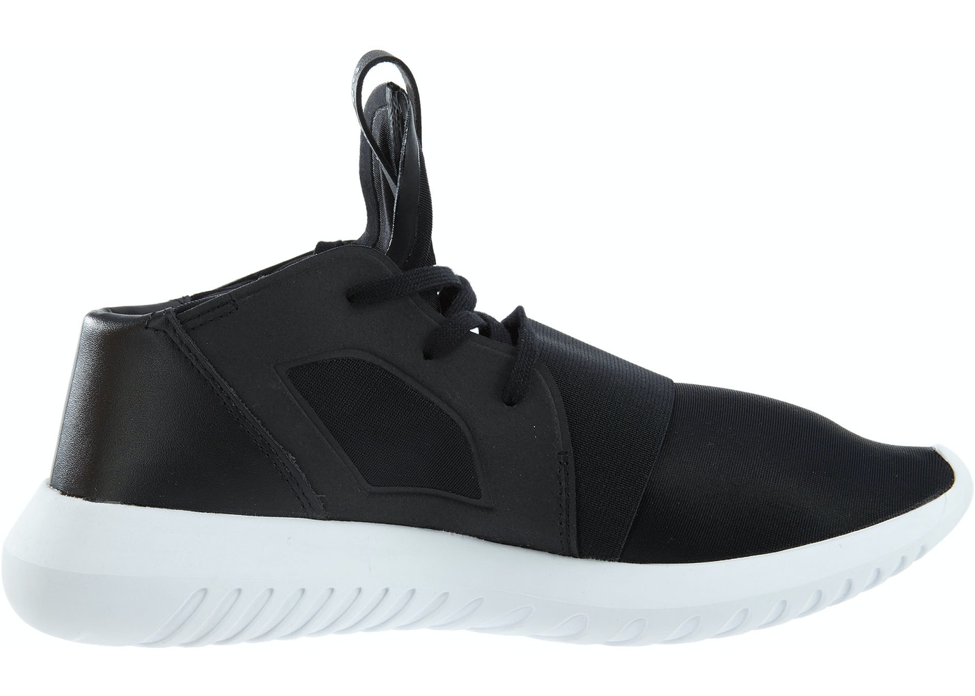 cheaper 43cc1 f9176 adidas Tubular Defiant Black Black-White (W)