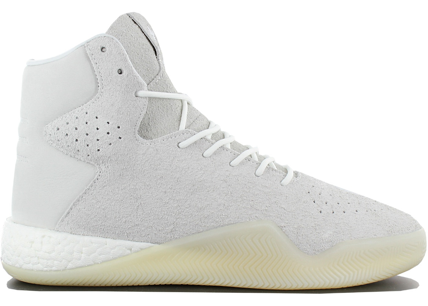 purchase cheap c1be6 117cc adidas Tubular Instinct Hairy Suede White