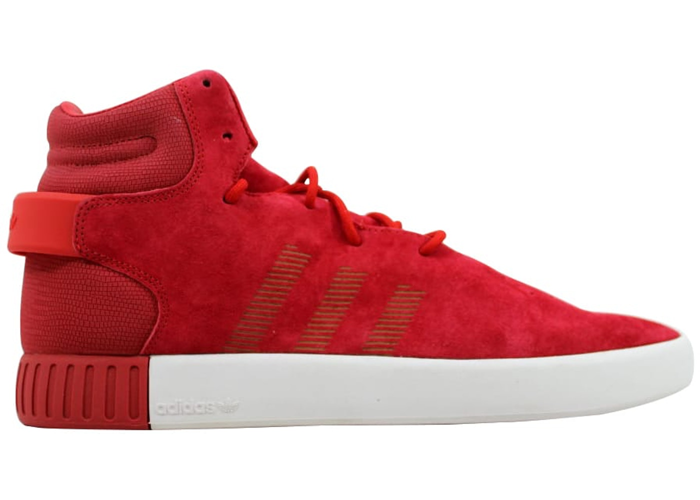 detailed pictures abe5c d80f5 adidas Tubular Invader Red/Red-Vintage White - S81963