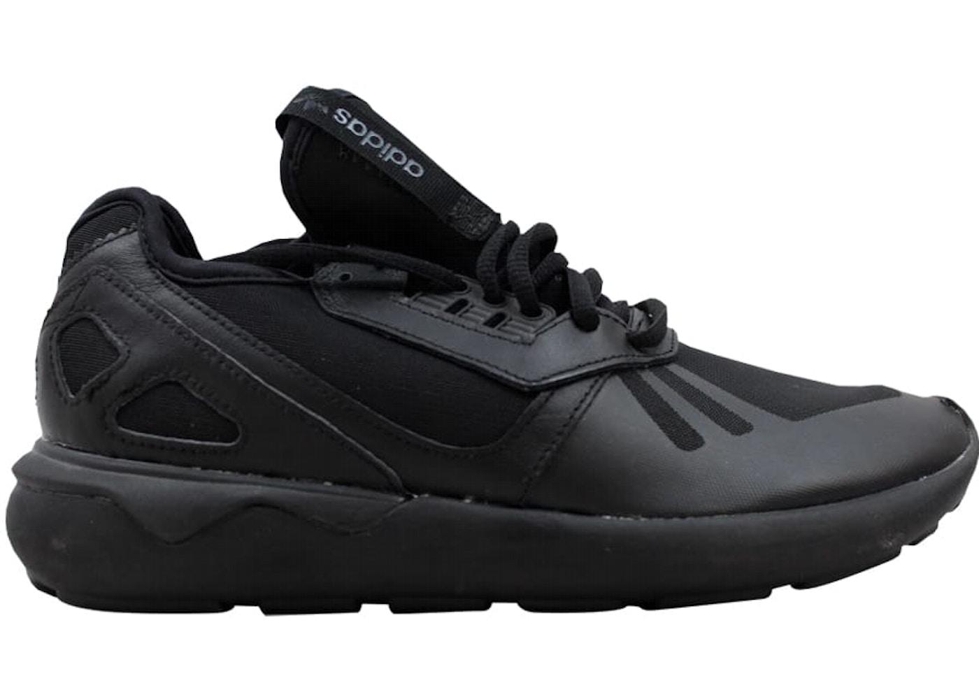 new style 42cd3 acb25 adidas Tubular Runner W Black/Black (W)