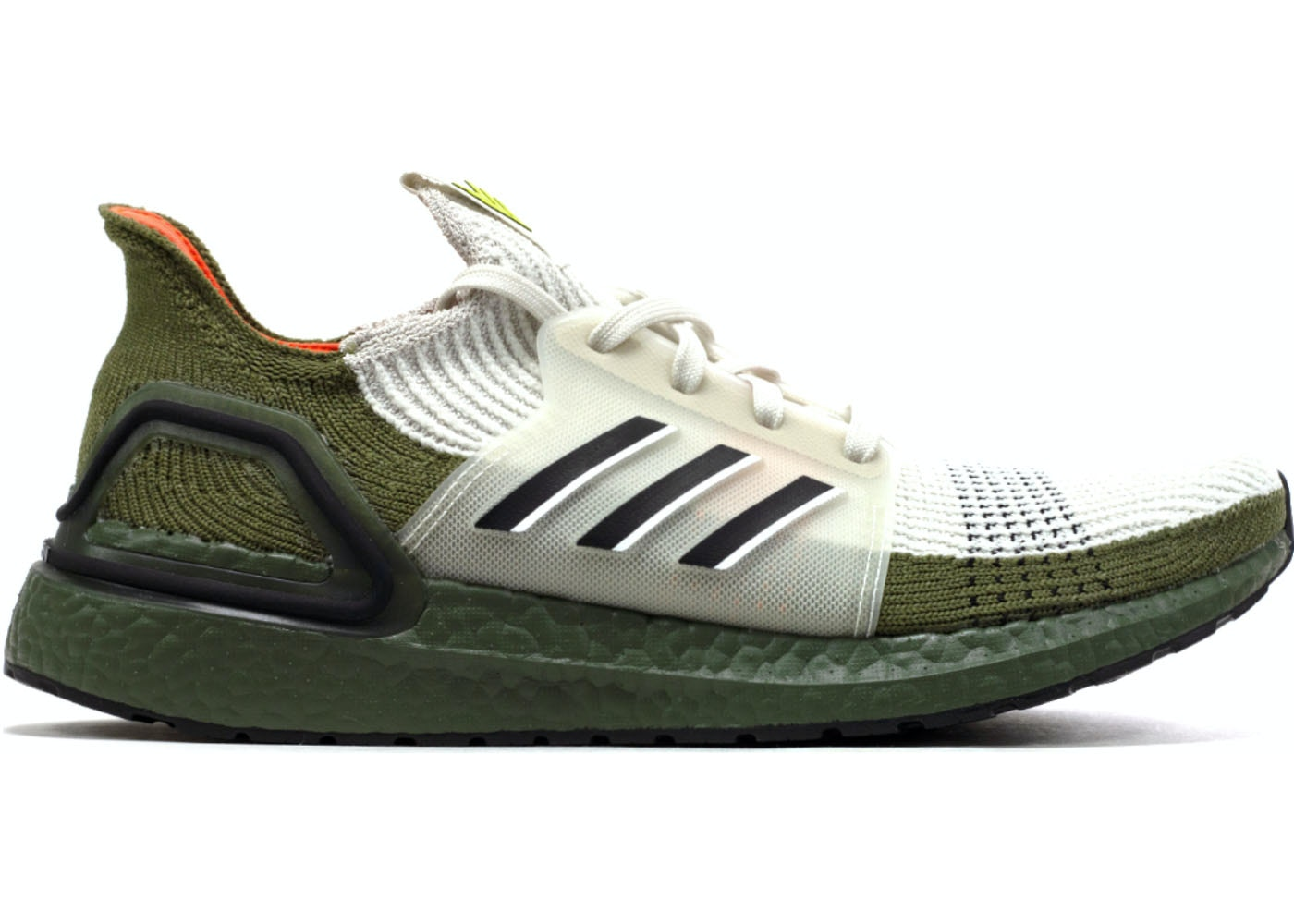 pre order a few days away special section adidas Ultra Boost 19 Olive Beige
