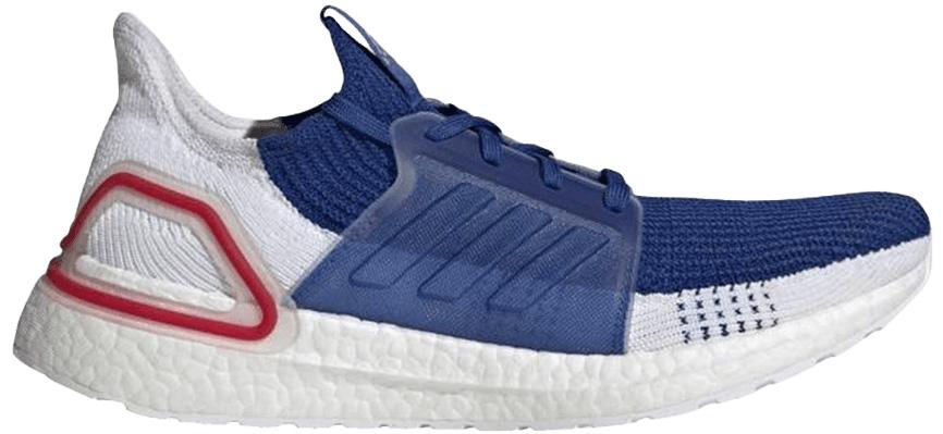 adidas Ultra Boost 19 White Blue - EF1340