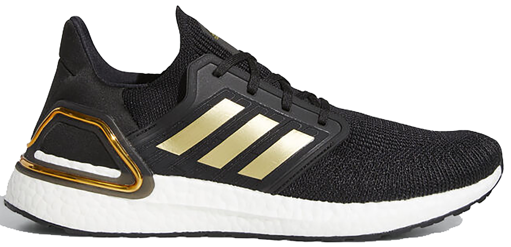 adidas Ultra Boost 20 Black Gold White