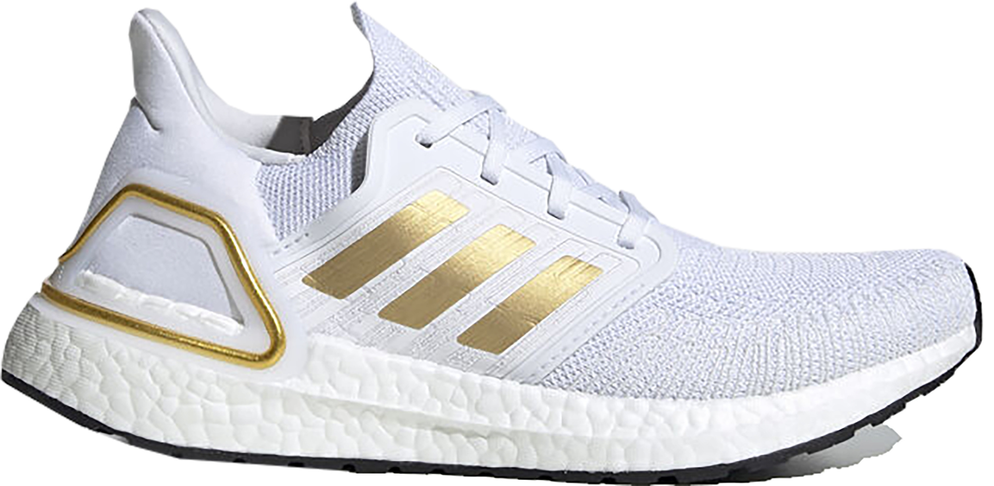 adidas Ultra Boost 20 Cloud White Gold