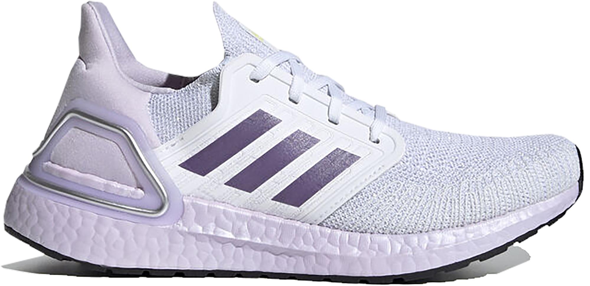adidas Ultra Boost 20 White Tech Purple