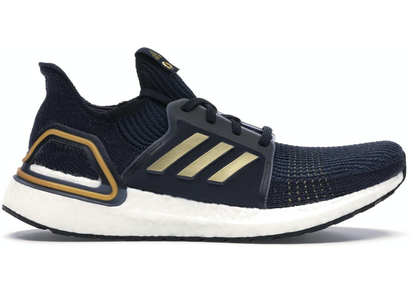 half off 410cb 38135 adidas Ultra Boost 2019 Blue Gold (US)