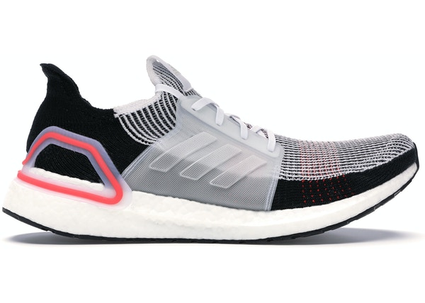 ce77416808319 adidas Ultra Boost 2019 Cloud White Active Red