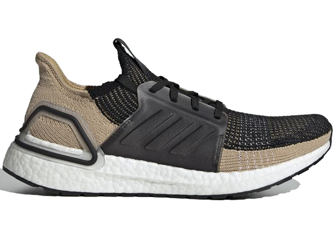 e48959bc adidas Ultra Boost 2019 Core Black Raw Sand - F35241