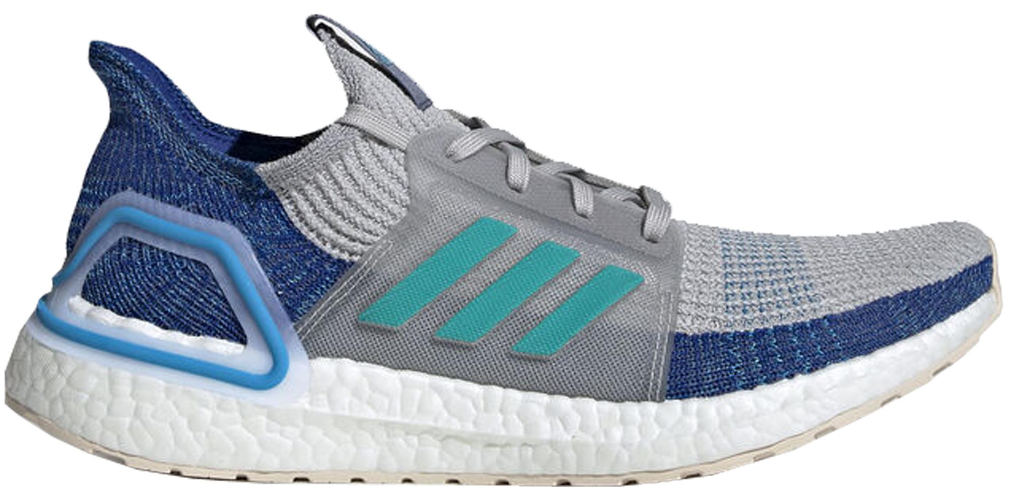 adidas Ultra Boost 2019 Grey Two Shock Cyan