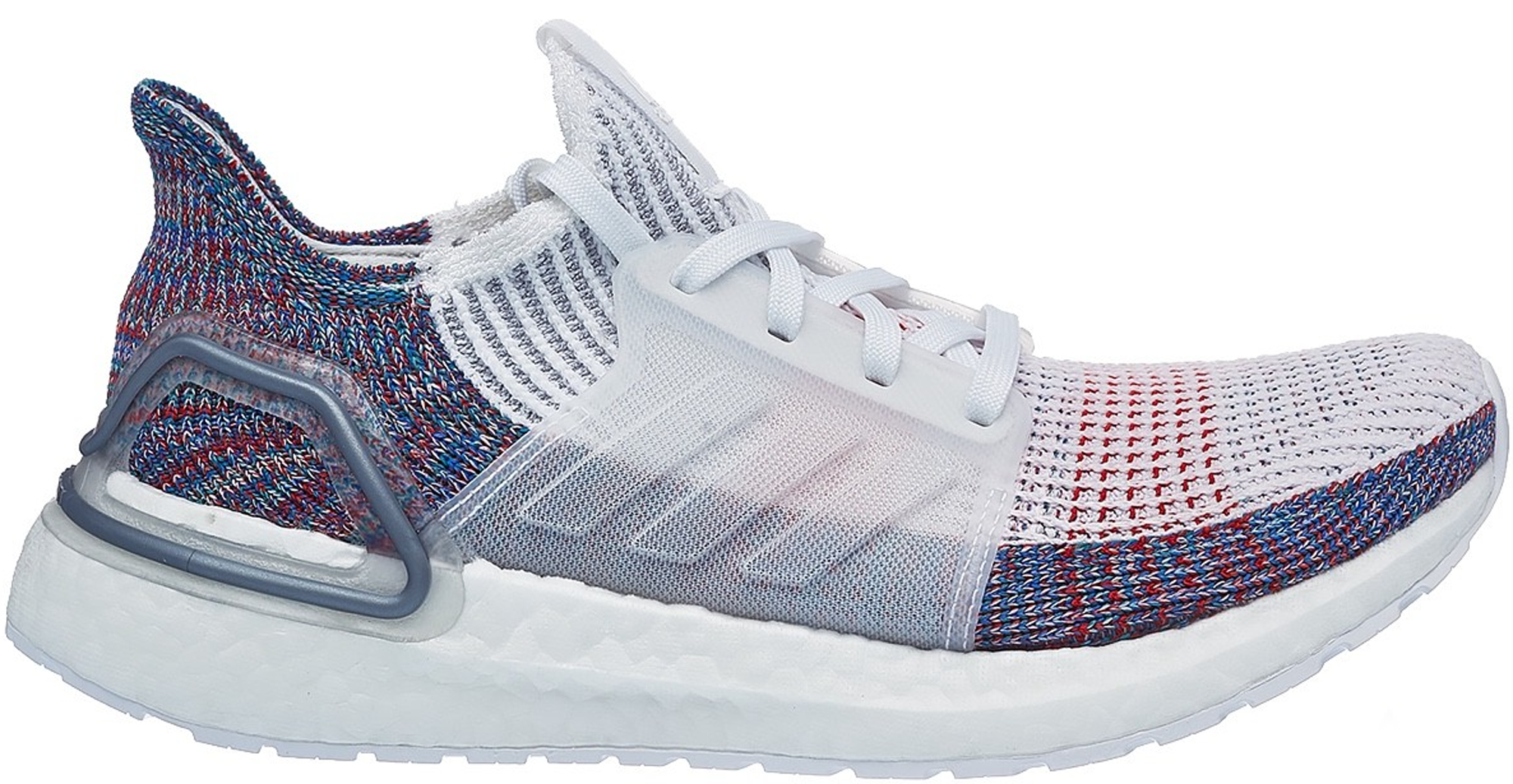 7d780f319 ... purchase adidas ultra boost 2019 white blue multi color w 88d57 631d4
