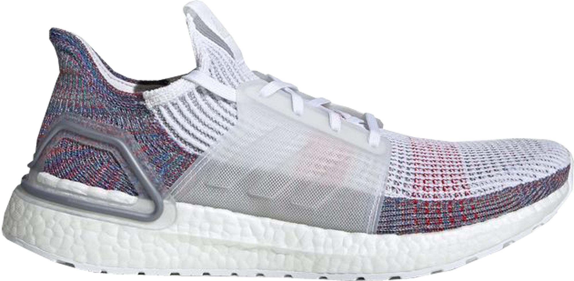 adidas Ultra Boost 2019 White Multi-Color
