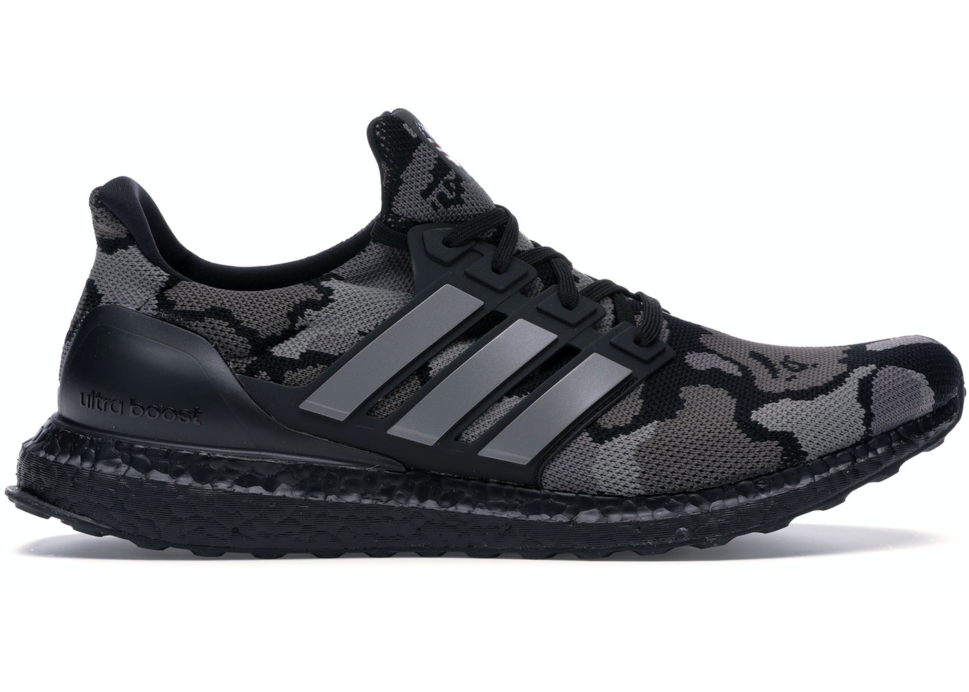 hot sale online fc656 fea6d adidas Ultra Boost 4.0 Bape Camo Black