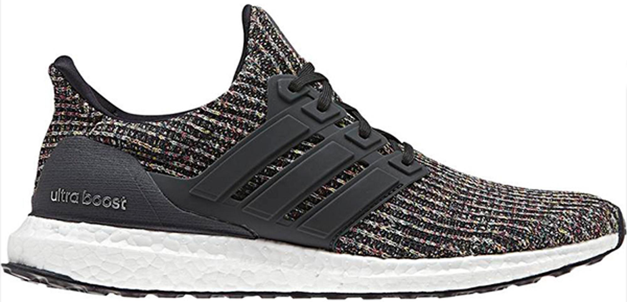 adidas Ultra Boost 4.0 Black Multi-Color