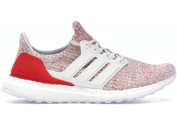 5a7607dbe lowest ask.  80. adidas Ultra Boost 4.0 Chalk White Active Red (W)