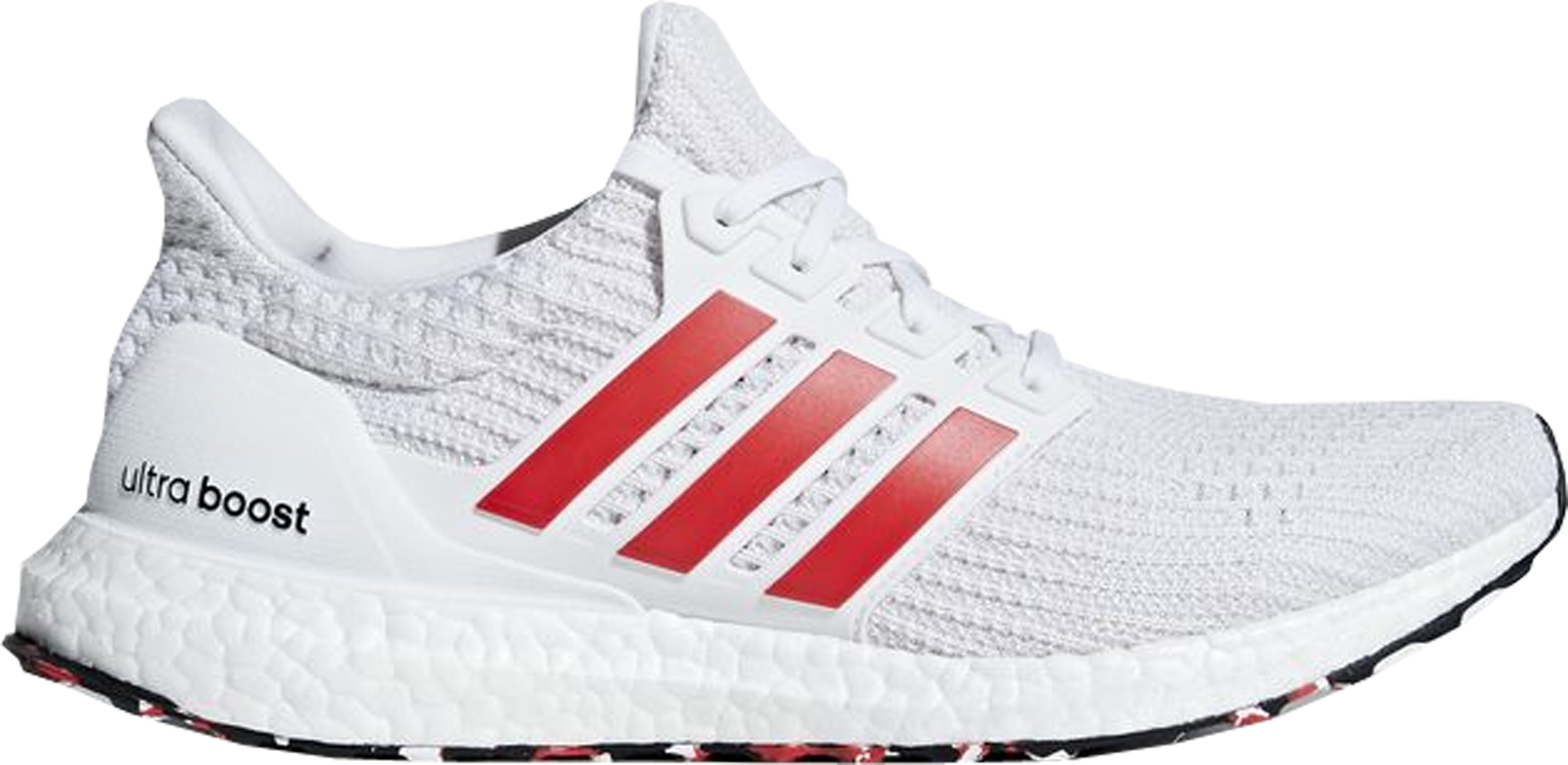 adidas Ultra Boost 4.0 Cloud White Active Red