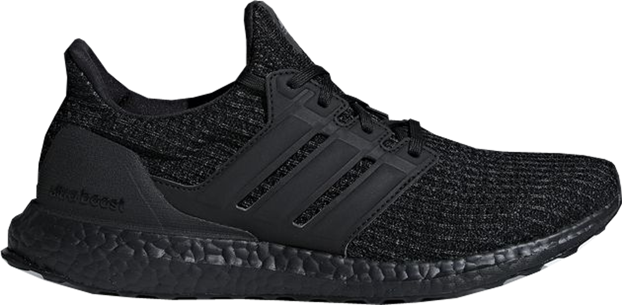 adidas Ultra Boost 4.0 Triple Black Nubuck Cage