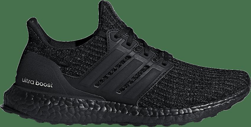 adidas Ultra Boost 4.0 Triple Black Gold (W)