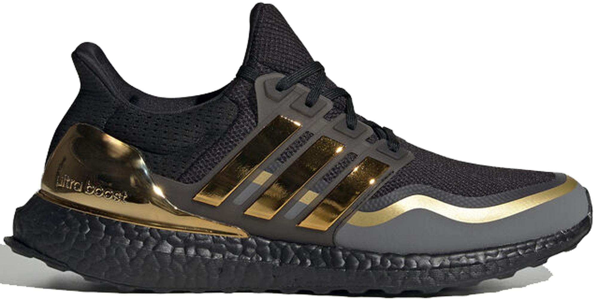 adidas Ultra Boost Black Gold - EG8102
