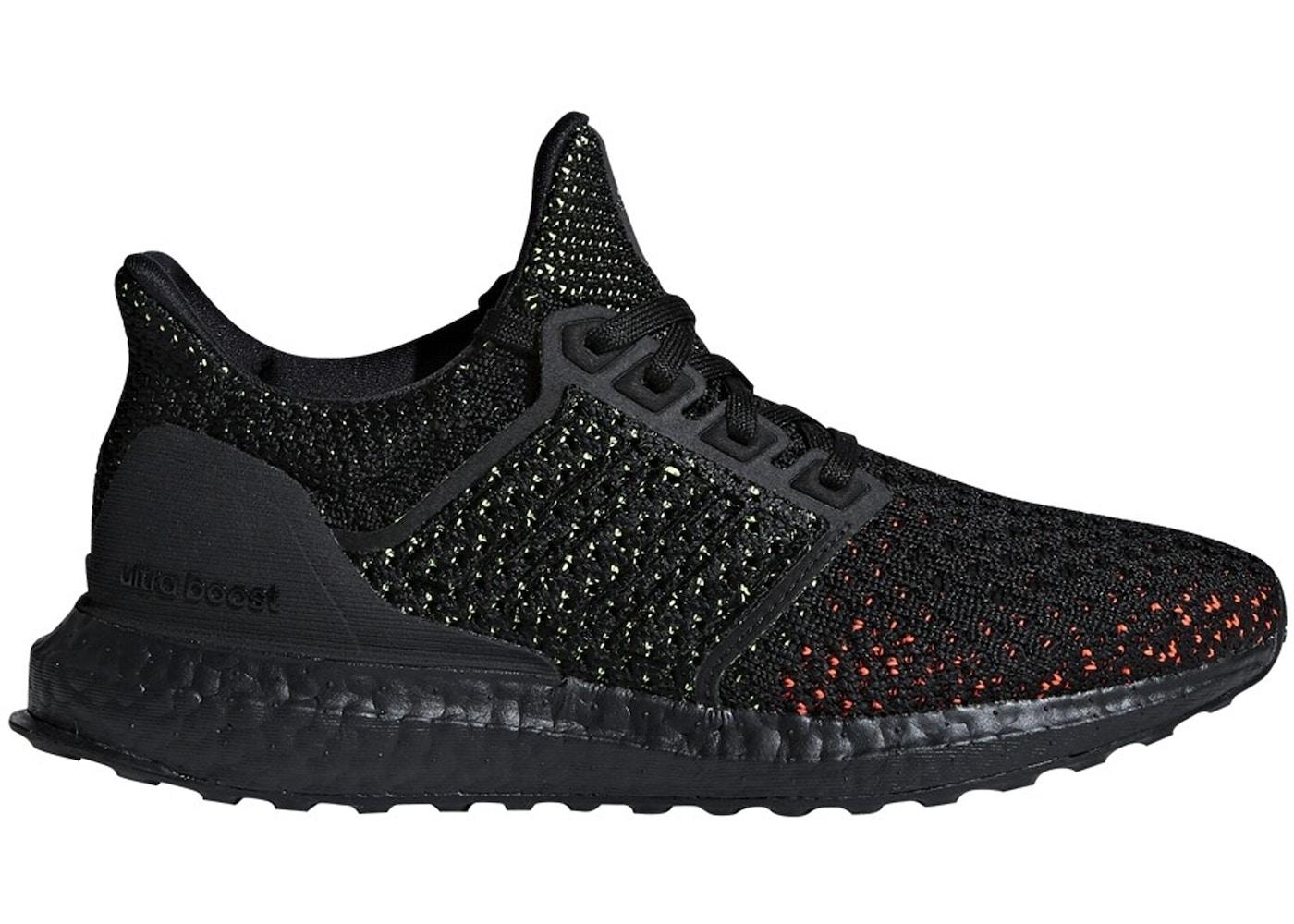 check out 7df47 6c3e7 adidas Ultra Boost Clima Core Black Solar Red (GS)