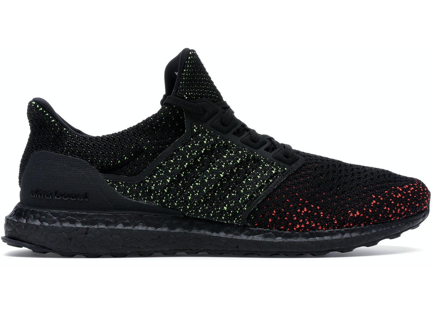 pretty nice b0caa 38870 adidas Ultra Boost Clima Core Black Solar Red