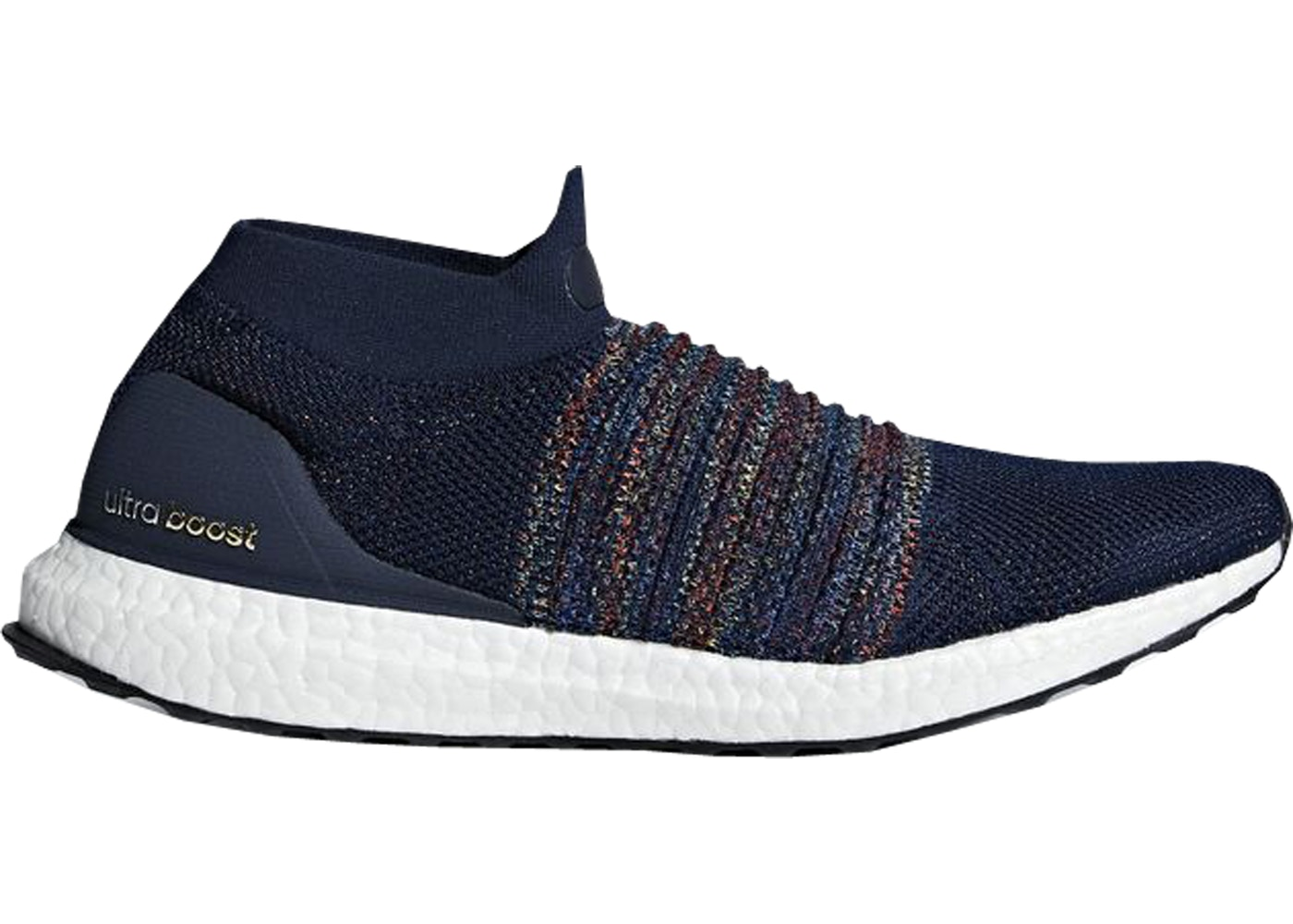 new product b4870 3ccc9 adidas Ultra Boost Laceless Collegiate Navy